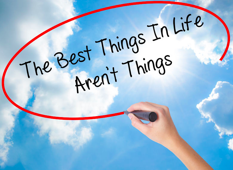 "What's the ""Best Thing In Life?"""